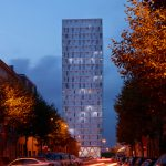 Studio Farris, Park Tower in Antwerp, Belgium. Photo © Lumecore/Toon Grobet