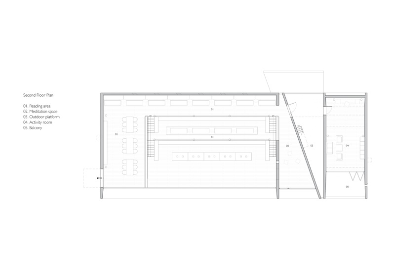 ©Vector Architects, 2nd Floor Plan