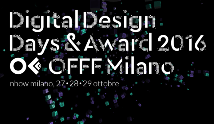 Digital design days and award milano