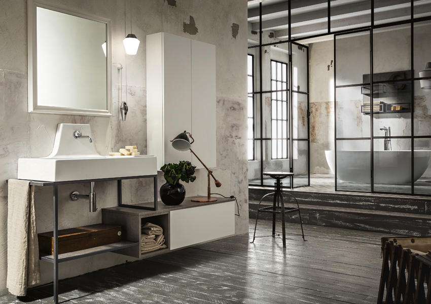 Interior design bagno metropolitan urban chic style for Metropolitan school of interior design